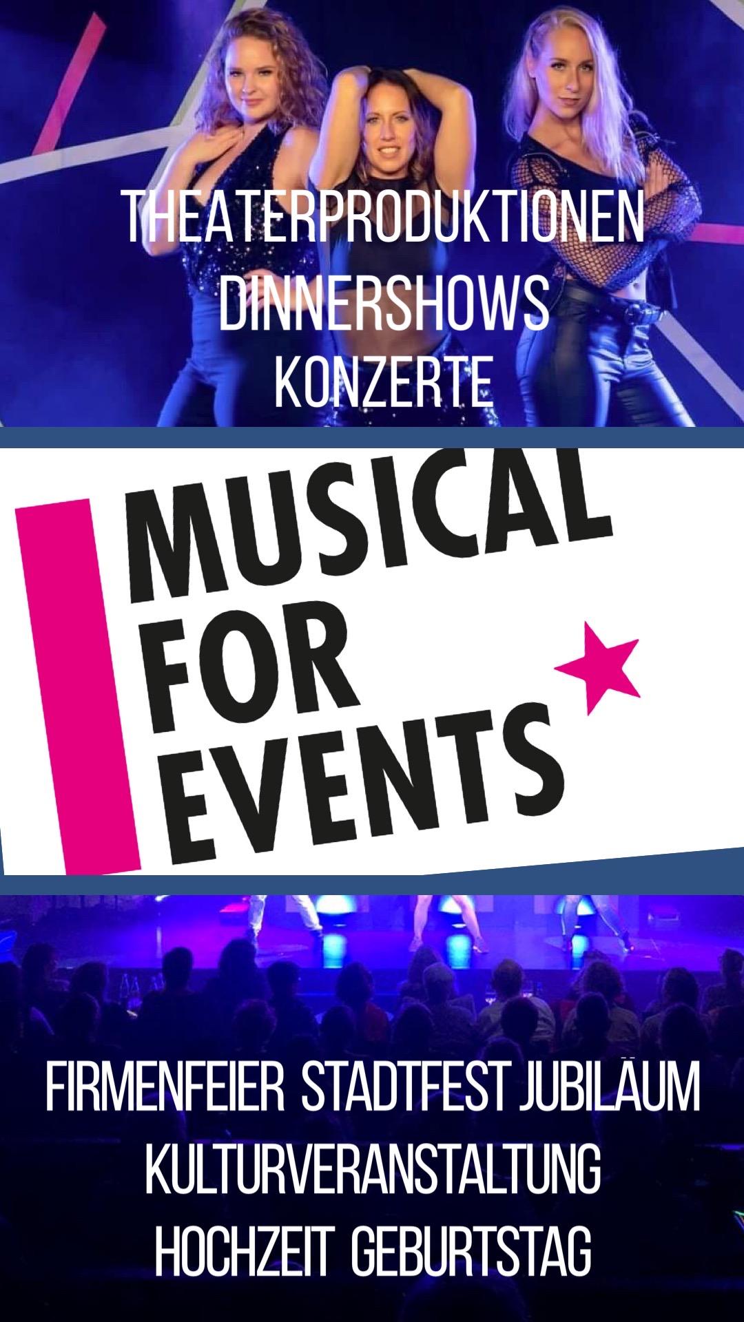 Theaterproduktionen, Dinnershows, Konzerte - Musical for Events